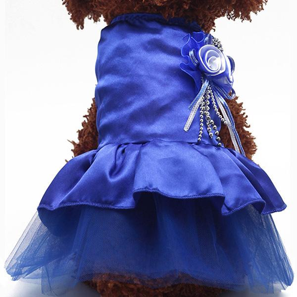 Pet-Dog-Cat-Princess-Bow-Tutu-Dress-Lace-Skirt-Puppy-Dog-Skirt-Apparel-Clothes thumbnail 19