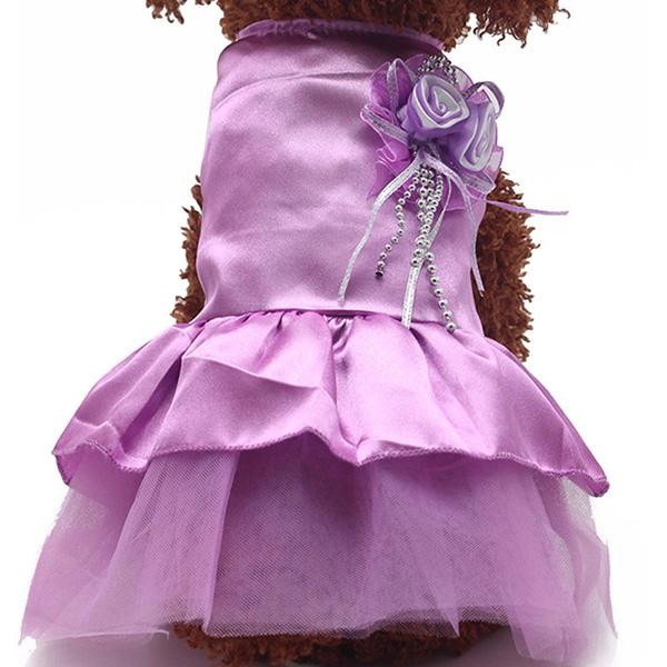 Pet-Dog-Cat-Princess-Bow-Tutu-Dress-Lace-Skirt-Puppy-Dog-Skirt-Apparel-Clothes thumbnail 18