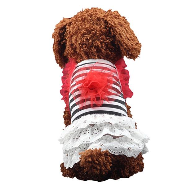 Pet-Dog-Cat-Princess-Bow-Tutu-Dress-Lace-Skirt-Puppy-Dog-Skirt-Apparel-Clothes thumbnail 25