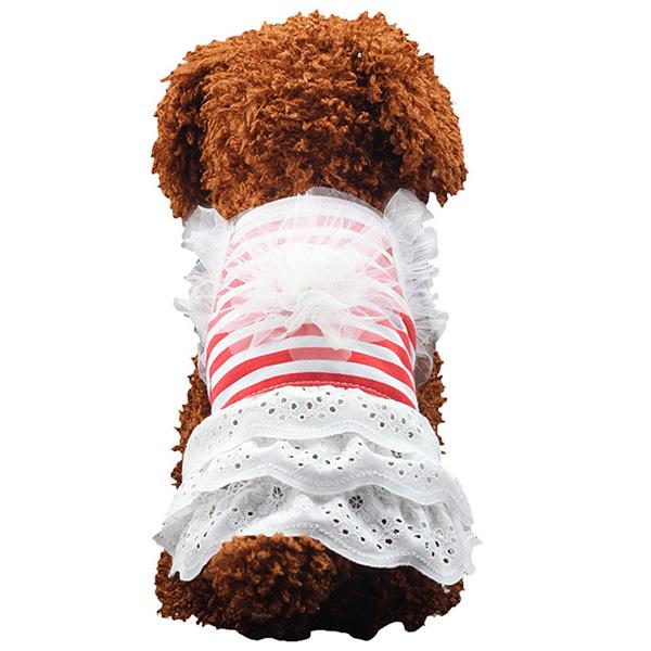 Pet-Dog-Cat-Princess-Bow-Tutu-Dress-Lace-Skirt-Puppy-Dog-Skirt-Apparel-Clothes thumbnail 26