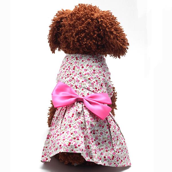 Pet-Dog-Cat-Princess-Bow-Tutu-Dress-Lace-Skirt-Puppy-Dog-Skirt-Apparel-Clothes thumbnail 16