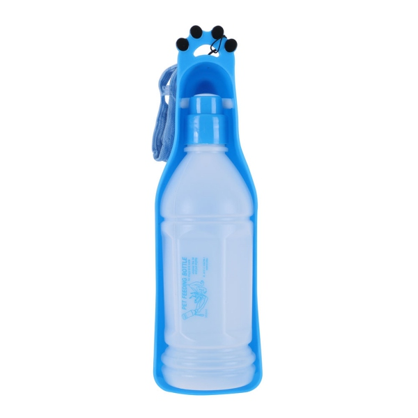 Portable Pet Dog Cat Travel Drinking Water Bowl Bottle: Portable Pet Dog Cat Puppy Water Dispenser Feeding Travel