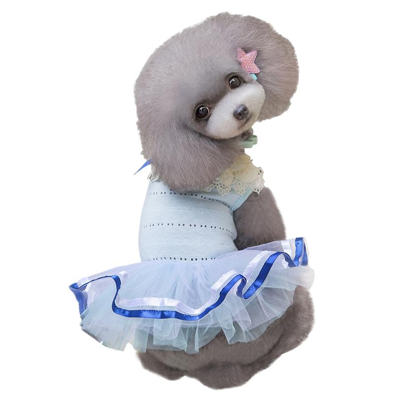Pet-Dog-Cat-Princess-Bow-Tutu-Dress-Lace-Skirt-Puppy-Dog-Skirt-Apparel-Clothes thumbnail 37