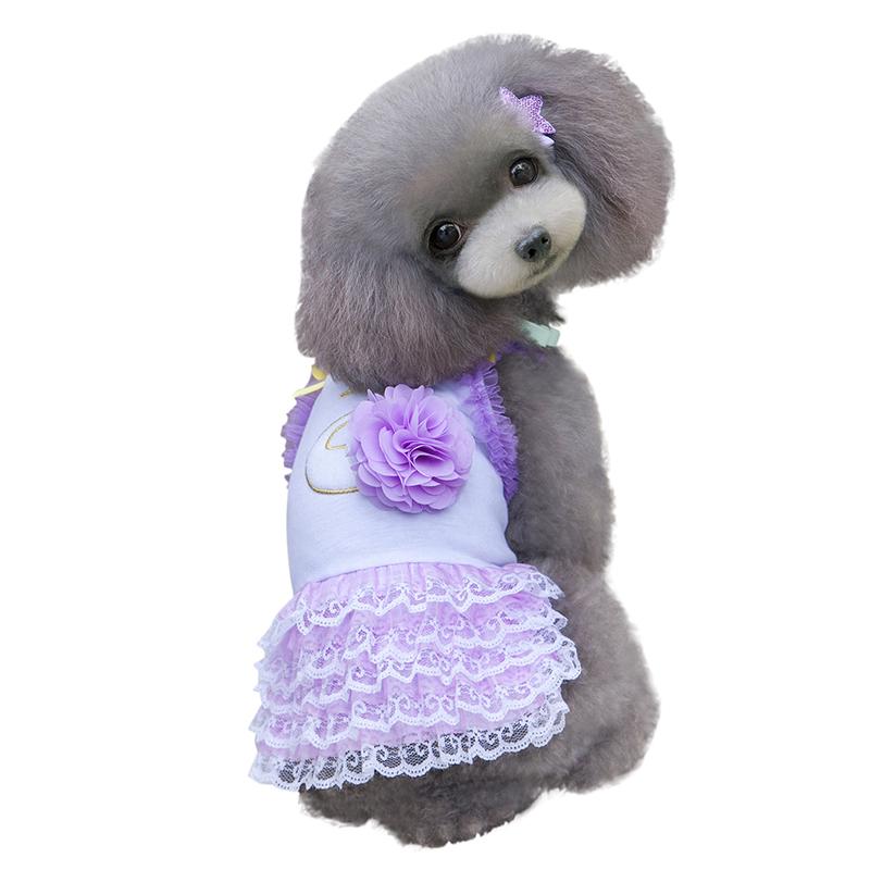 Pet-Dog-Cat-Princess-Bow-Tutu-Dress-Lace-Skirt-Puppy-Dog-Skirt-Apparel-Clothes thumbnail 38