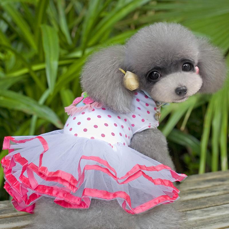 Pet-Dog-Cat-Princess-Bow-Tutu-Dress-Lace-Skirt-Puppy-Dog-Skirt-Apparel-Clothes thumbnail 13