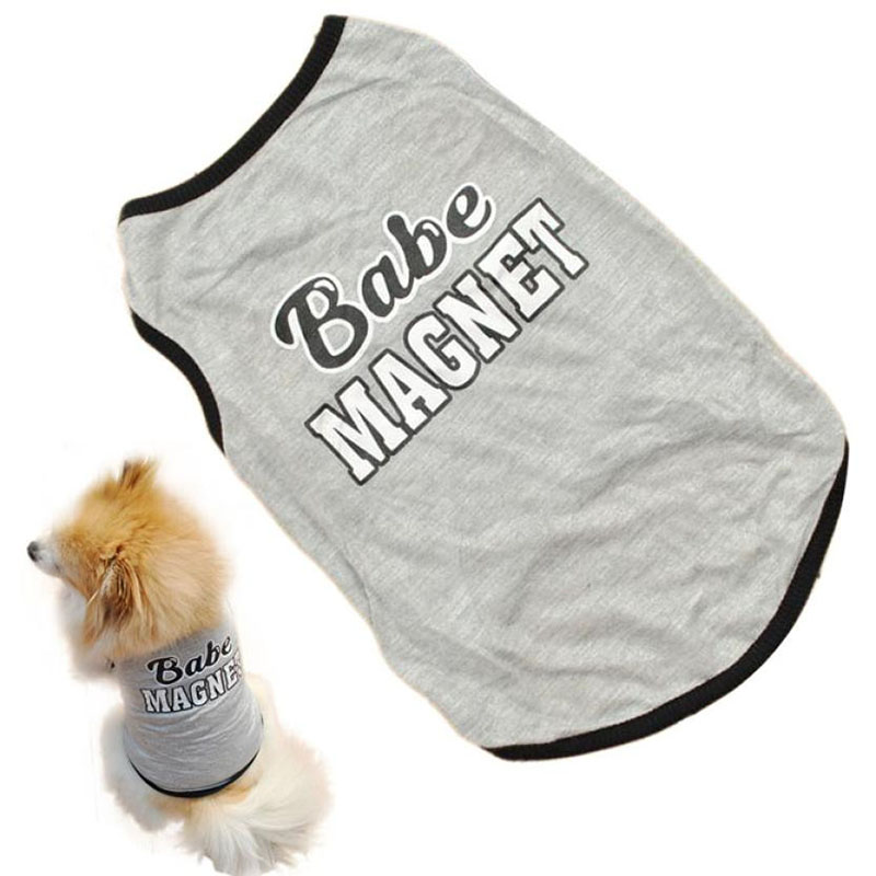 Ropa Perro Gato Cachorro Chaleco T - shirt Abrigo Ropa Para Mascotas ...