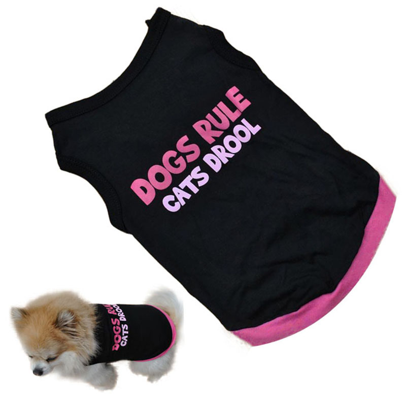 Cute Summer Pet Puppy Small Dog Cat Pet Clothes Vest T