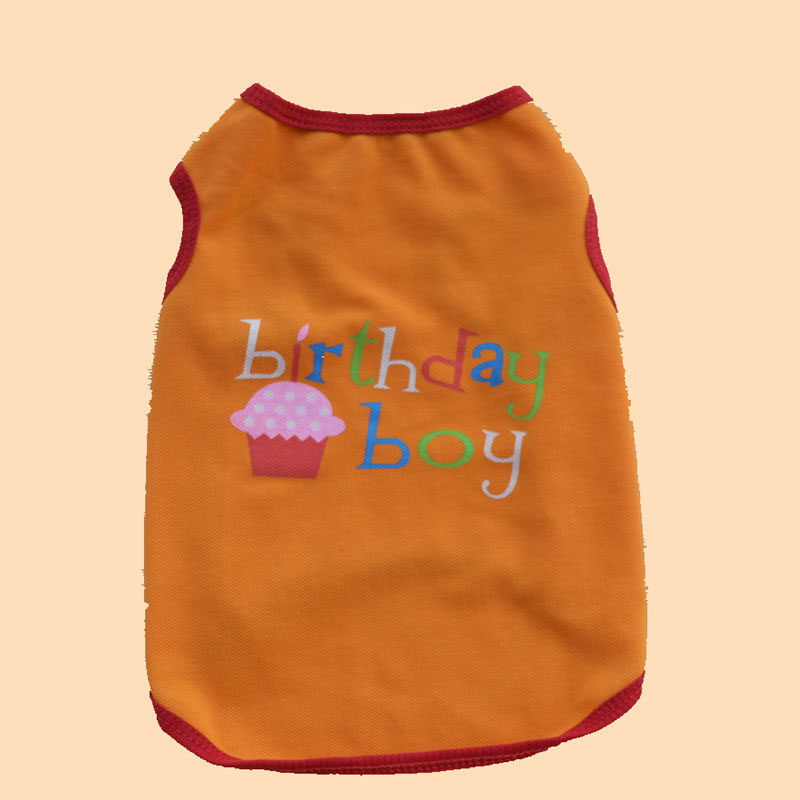 Puppy Dog Cat Pet T Shirt Clothes Birthday Boy/Girl Print