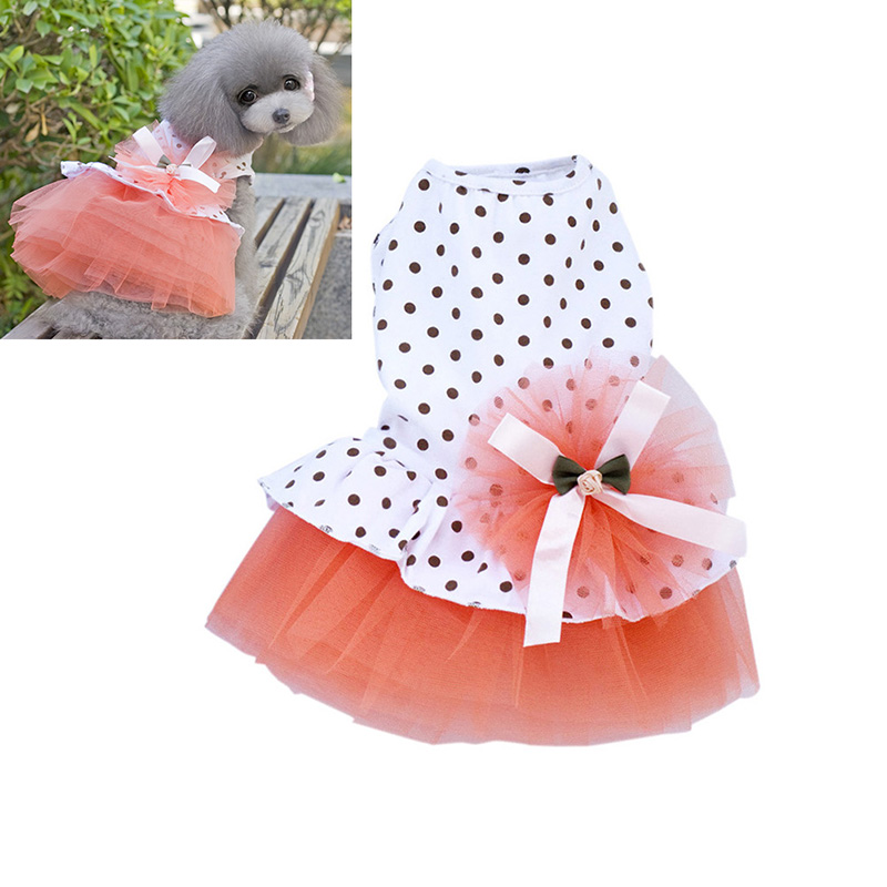 Small-Pet-Dog-Cats-Bow-Tutu-Dress-Lace-Skirt-Puppy-Dress-Summer-Princess-Clothes thumbnail 11