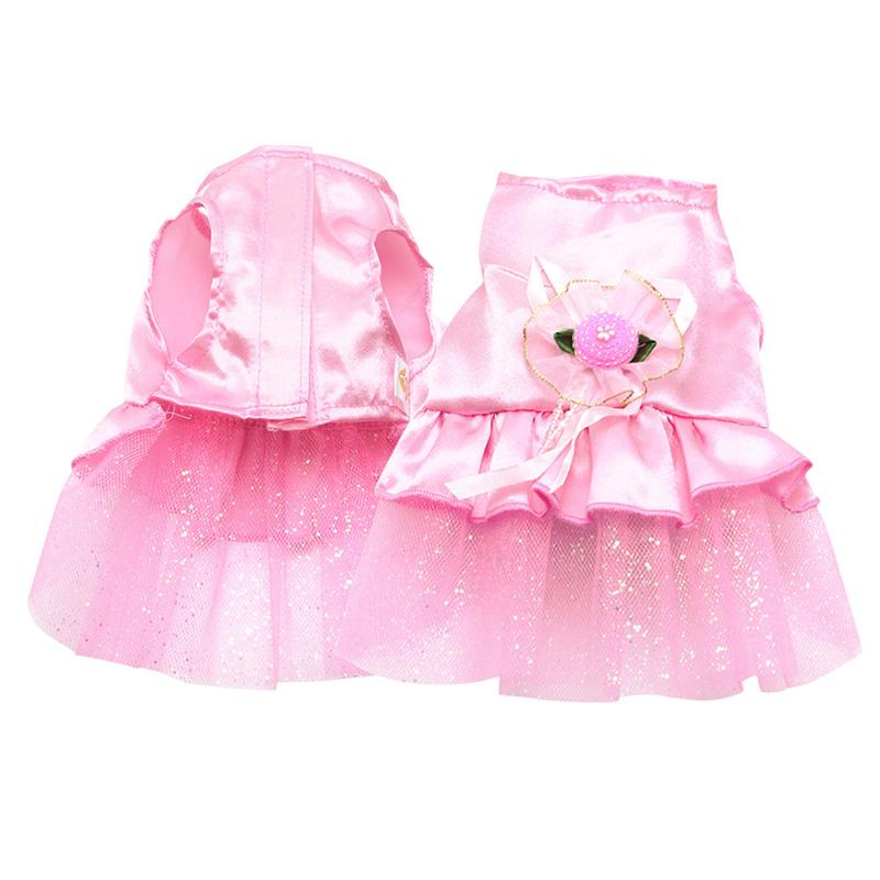 Small-Pet-Dog-Cats-Bow-Tutu-Dress-Lace-Skirt-Puppy-Dress-Summer-Princess-Clothes thumbnail 2
