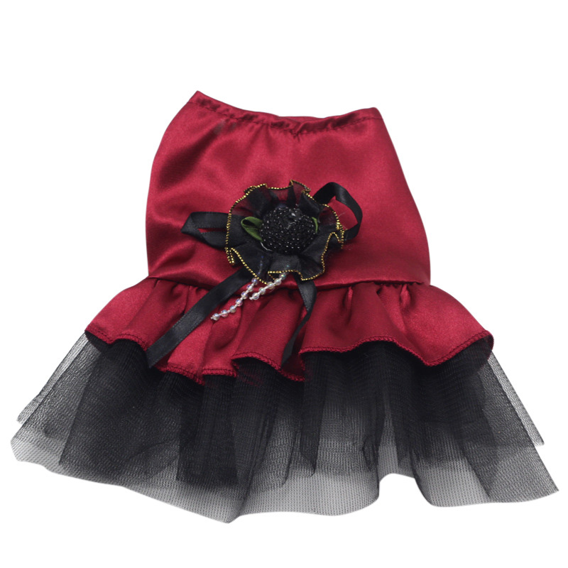 Small-Pet-Dog-Cats-Bow-Tutu-Dress-Lace-Skirt-Puppy-Dress-Summer-Princess-Clothes thumbnail 3