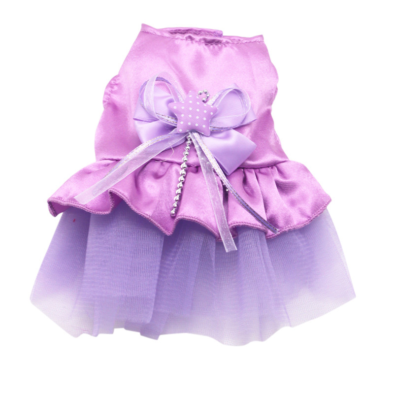 Small-Pet-Dog-Cats-Bow-Tutu-Dress-Lace-Skirt-Puppy-Dress-Summer-Princess-Clothes thumbnail 4