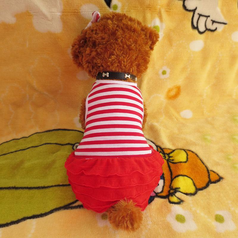 Small-Pet-Dog-Cats-Bow-Tutu-Dress-Lace-Skirt-Puppy-Dress-Summer-Princess-Clothes thumbnail 7