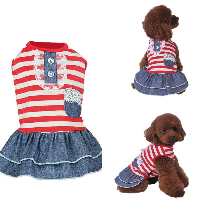Pet-Dog-Cat-Princess-Bow-Tutu-Dress-Lace-Skirt-Puppy-Dog-Skirt-Apparel-Clothes thumbnail 31