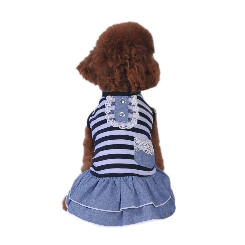 Pet-Dog-Cat-Princess-Bow-Tutu-Dress-Lace-Skirt-Puppy-Dog-Skirt-Apparel-Clothes thumbnail 32