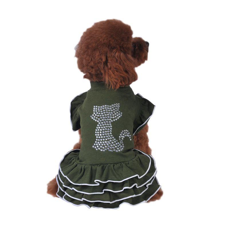 Pet-Dog-Cat-Princess-Bow-Tutu-Dress-Lace-Skirt-Puppy-Dog-Skirt-Apparel-Clothes thumbnail 35