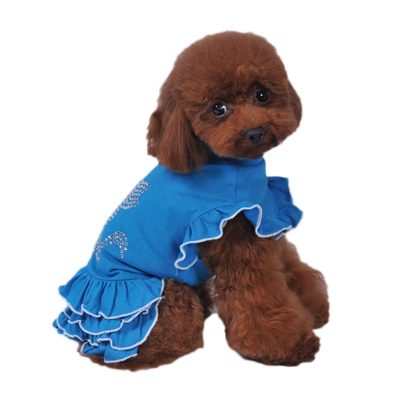 Pet-Dog-Cat-Princess-Bow-Tutu-Dress-Lace-Skirt-Puppy-Dog-Skirt-Apparel-Clothes thumbnail 34