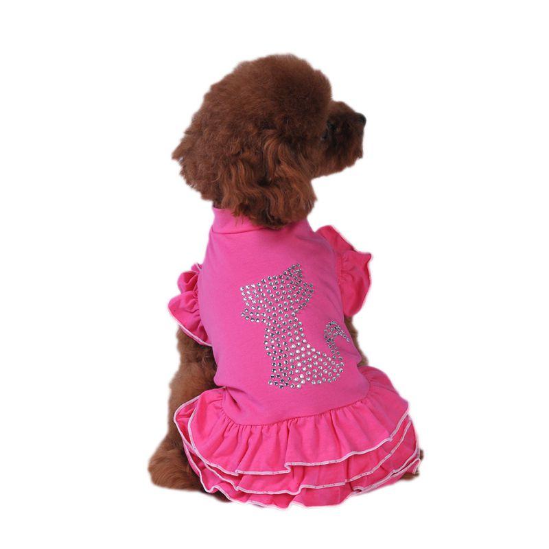 Pet-Dog-Cat-Princess-Bow-Tutu-Dress-Lace-Skirt-Puppy-Dog-Skirt-Apparel-Clothes thumbnail 33