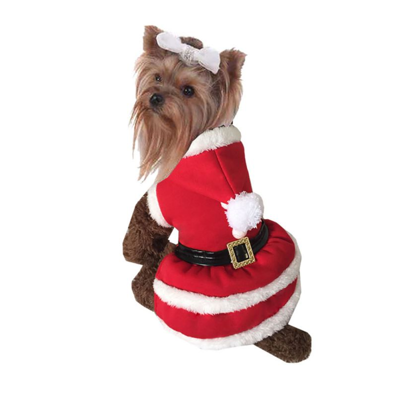 lots pet christmas sweater warm hoodies puppy clothes - Large Dog Christmas Sweaters