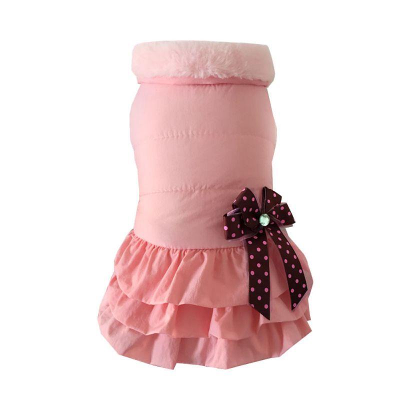 Pet-Dog-Cat-Princess-Bow-Tutu-Dress-Lace-Skirt-Puppy-Dog-Skirt-Apparel-Clothes thumbnail 47