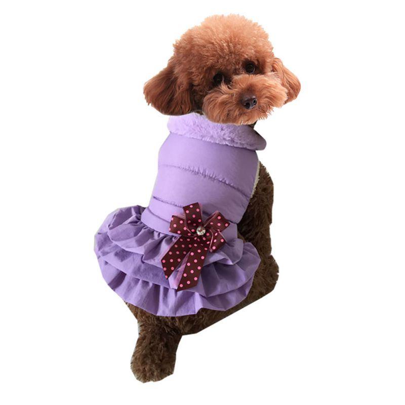 Pet-Dog-Cat-Princess-Bow-Tutu-Dress-Lace-Skirt-Puppy-Dog-Skirt-Apparel-Clothes thumbnail 46