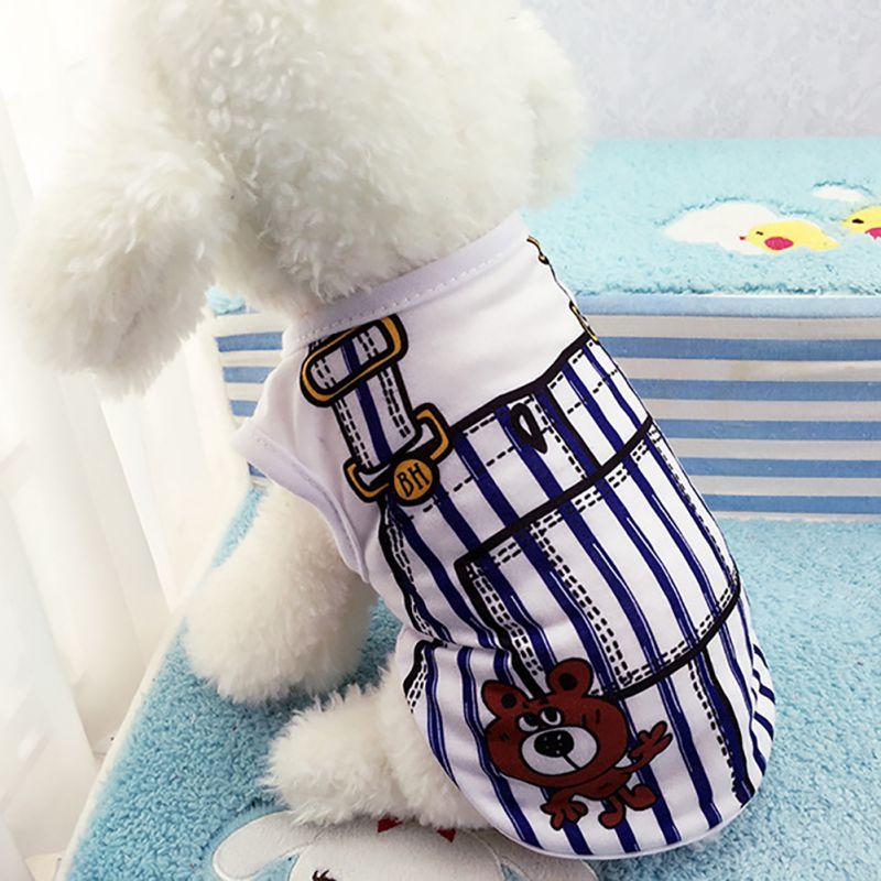 Petit-animal-de-compagnie-chien-vetements-Costume-gilet-chiot-chat-T-Shirt-ete