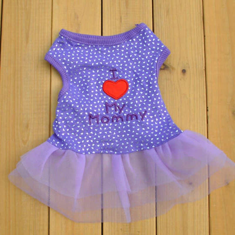Summer-Female-Pet-Dog-Cat-Tutu-Dress-Lace-Skirt-Small-Puppy-Princess-Clothes-New thumbnail 15