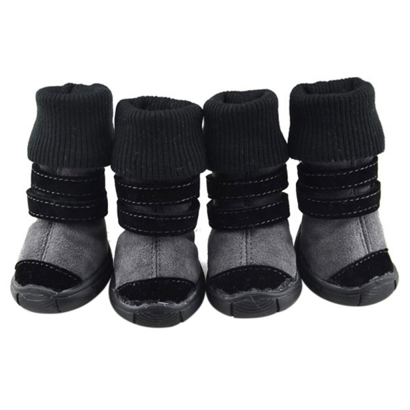 4pcs-Dog-Shoes-Small-Large-Mesh-Boots-Booties-for-Snow-Rain-Reflective-Anti-slip