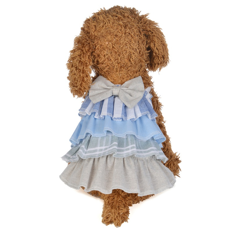 Summer-Small-Pet-Dog-Flower-Tutu-Dress-Puppy-Cat-Vest-Bow-Skirt-Apparel-Clothes thumbnail 18