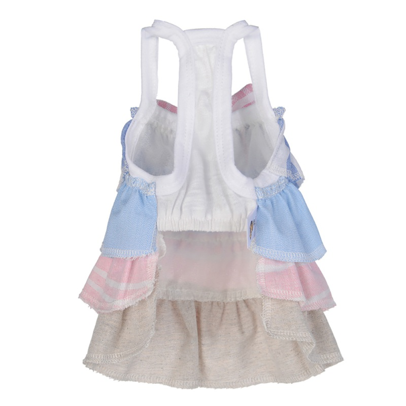 Summer-Small-Pet-Dog-Flower-Tutu-Dress-Puppy-Cat-Vest-Bow-Skirt-Apparel-Clothes thumbnail 13
