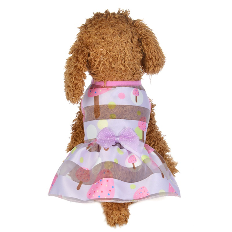 Summer-Small-Pet-Dog-Flower-Tutu-Dress-Puppy-Cat-Vest-Bow-Skirt-Apparel-Clothes thumbnail 28