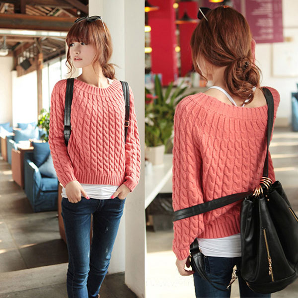 Women Long Sleeve Knitwear Jumper Cardigan Coat Casual Jacket ...