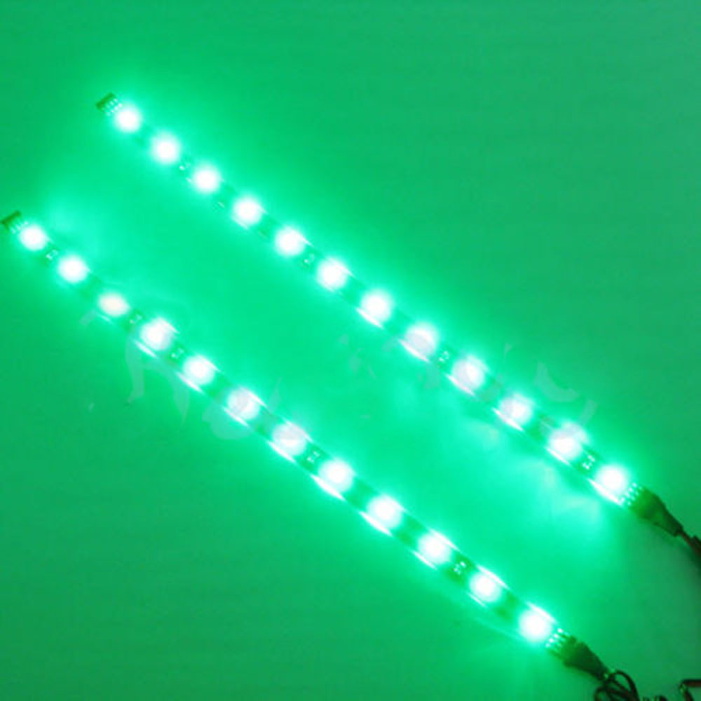 2pcs 12 leds 30cm 5050 smd led strip light flexible waterproof 12v 2pcs 12 leds 30cm 5050 smd led strip aloadofball