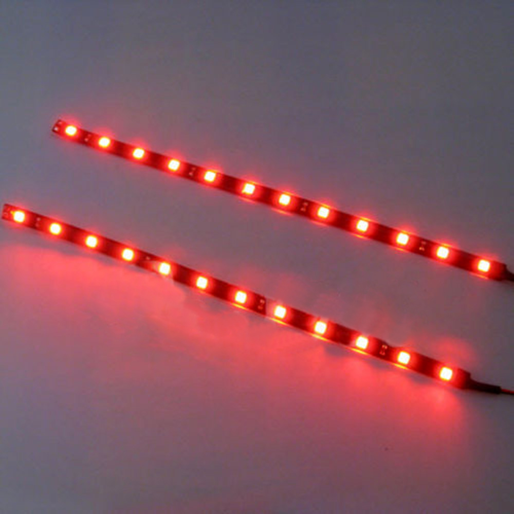 2pcs 12 leds 30cm 5050 smd led strip light flexible waterproof 12v 2pcs 12 leds 30cm 5050 smd led strip aloadofball Gallery