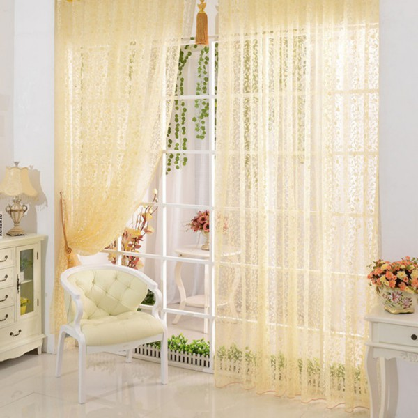 Charmant Tassels Fringe Line String Curtain Window Door Curtain