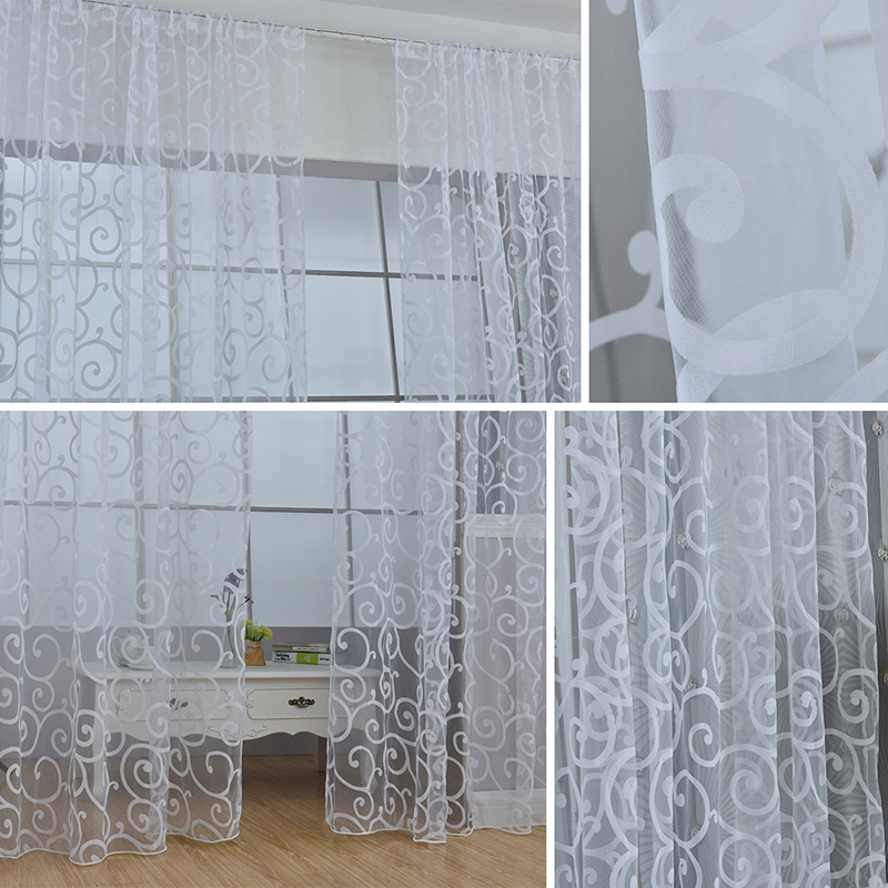 how to make a voile drape for a window