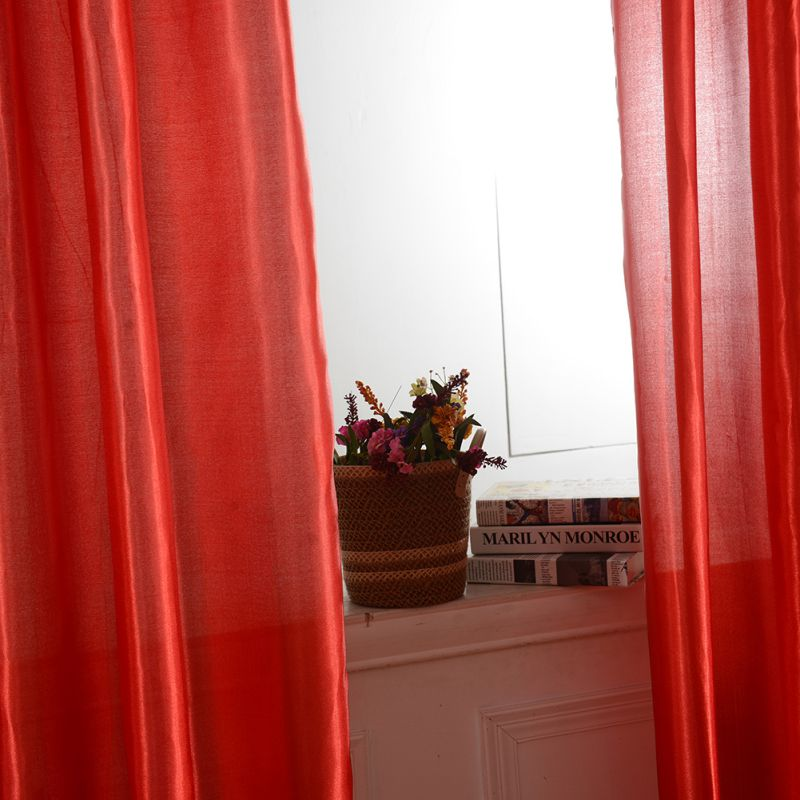 Hi Q Sheer Voile Curtain Blackout Panel Drapes Lining Curtain Screen Divider 1pc