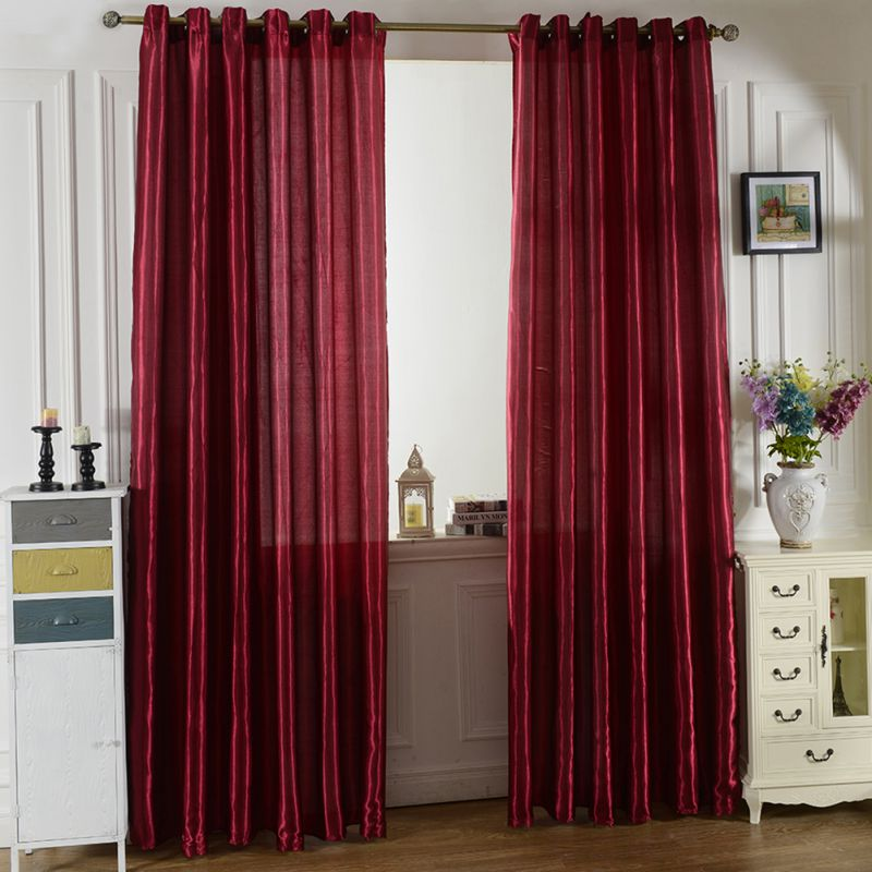 NIce Window Screen Curtains Door Room Blackout Lining