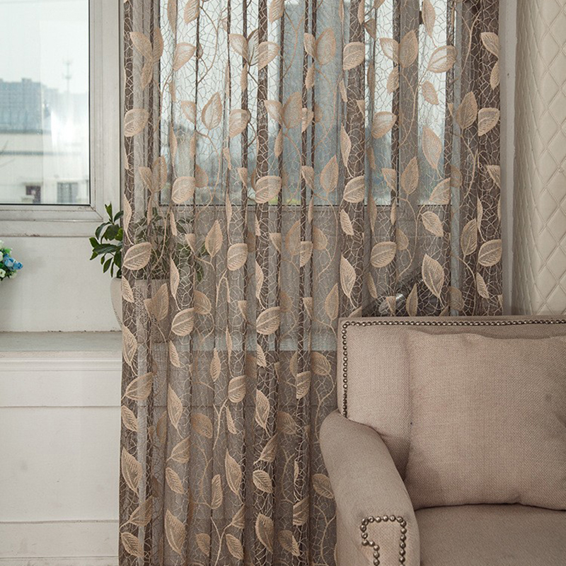 See Through Curtains window tulle curtain see through drape sheer room valances door