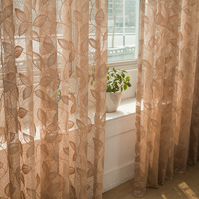 Sheer screen divider door window tulle curtain balcony for Balcony curtains