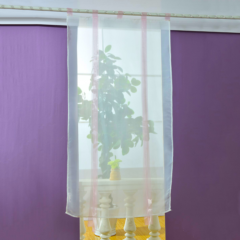 Curtain For Balcony: New Liftable Roman Blinds Sheer Kitchen Bathroom Balcony