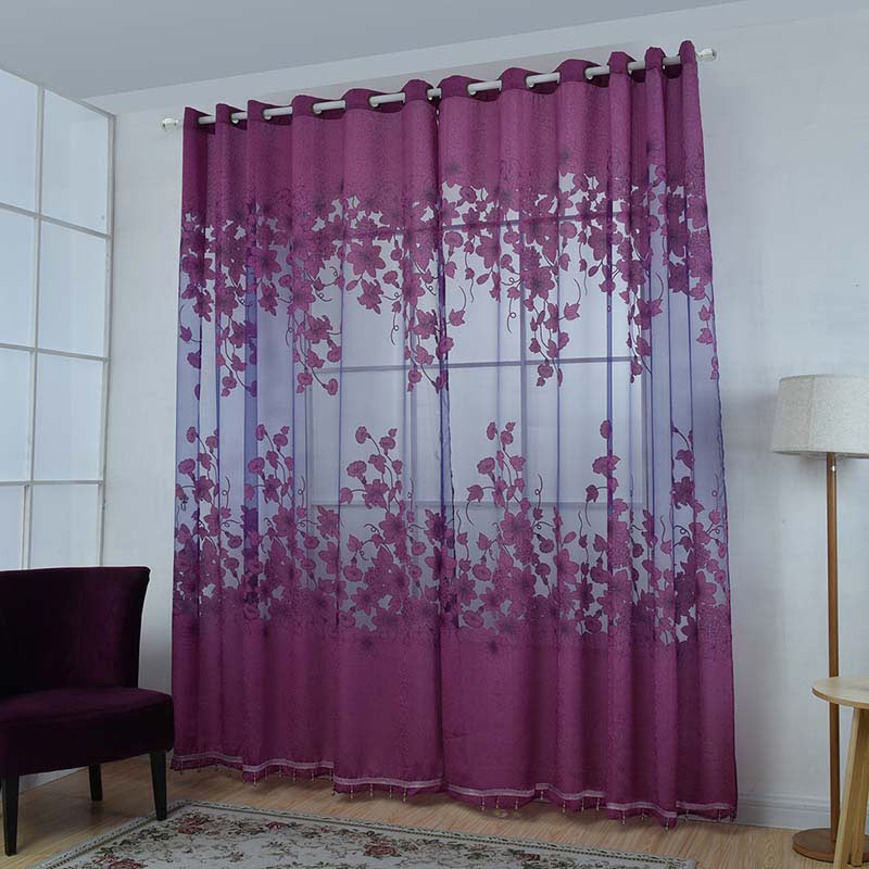 The lace curtains let the daylight through but provide privacy so they are perfect to use in a layered window solution. The rod pocket allows you to hang the curtains directly on a curtain rod. Can be easily cut to the desired length without hemming.