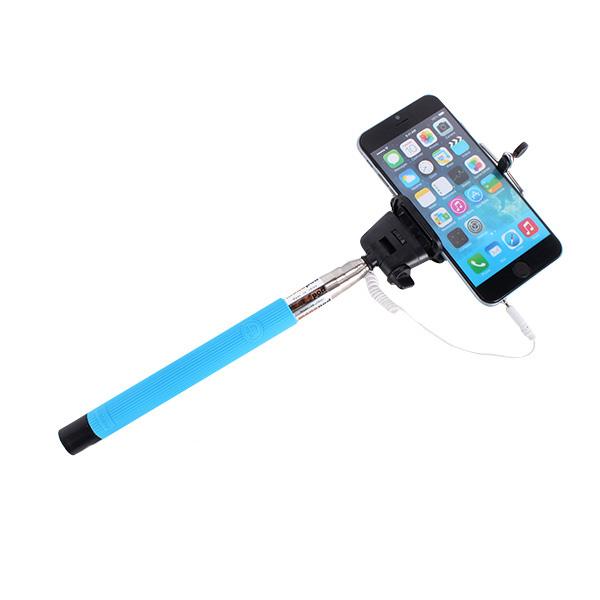 extendable self portrait selfie stick photo handheld monopod for camera phone ebay. Black Bedroom Furniture Sets. Home Design Ideas