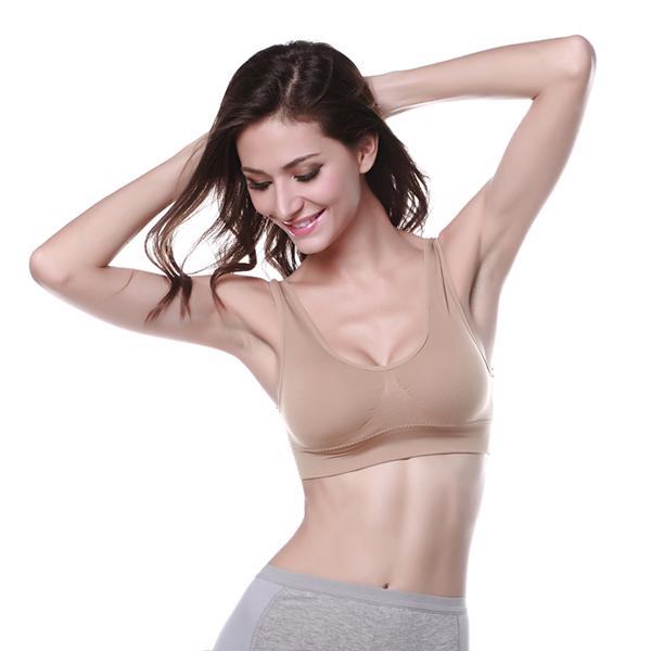 Les-Femmes-Sans-Racerback-Yoga-Rembourre-Stretch-Gym-Fitness-Top