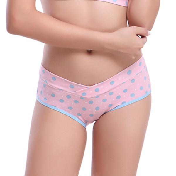 Cotton-Maternidad-Bragas-Talle-bajo-Embarazada-Mum-Soft-Women-Underwear-Briefs