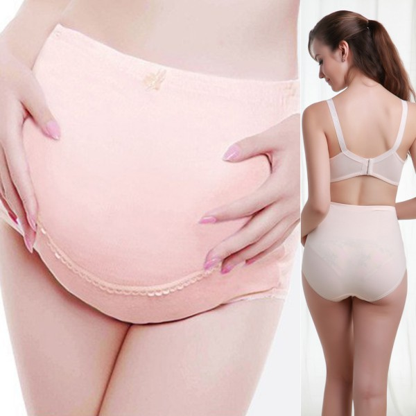 US Women Pregnant Knicker Maternity Underwear Tummy Over Bump Support Panties