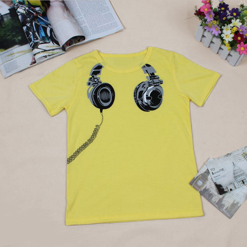 Summer 2 7y baby kids boys short sleeve pattern printed t for Boys printed t shirts