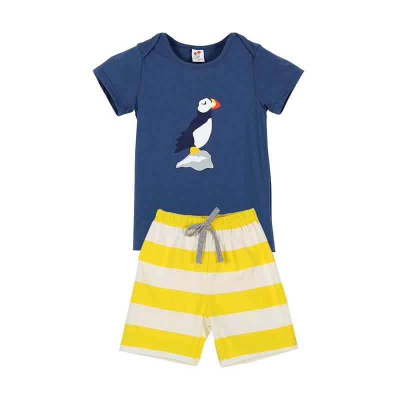 Kid Clothes Set Infant Baby Boy Girl Short Sleeve T shirt
