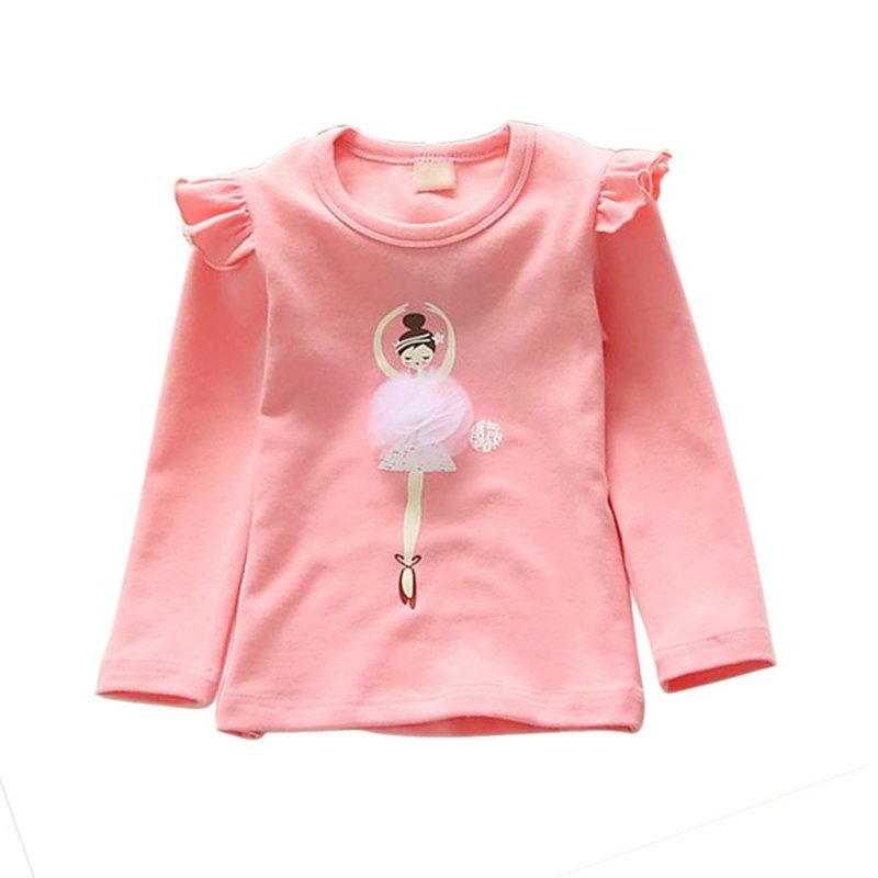 autumn cute baby girls kid toddlers long sleeve t shirts. Black Bedroom Furniture Sets. Home Design Ideas
