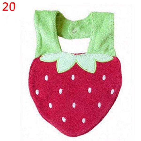 Baby-Infant-Newborn-Girl-Boy-Cartoon-Lunch-Bib-Toddler-Animal-Fruit-Saliva-Towel